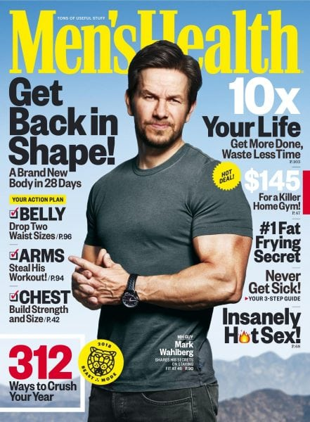 Download Men's Health USA — January 2018