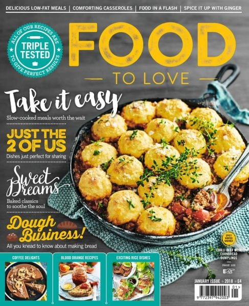 Download Food To Love — January 2018