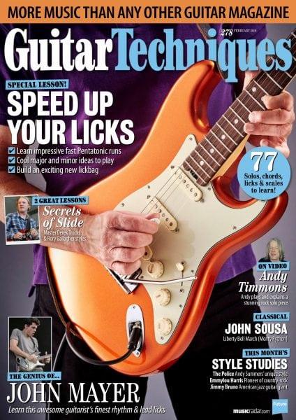 Download Guitar Techniques — February 2018