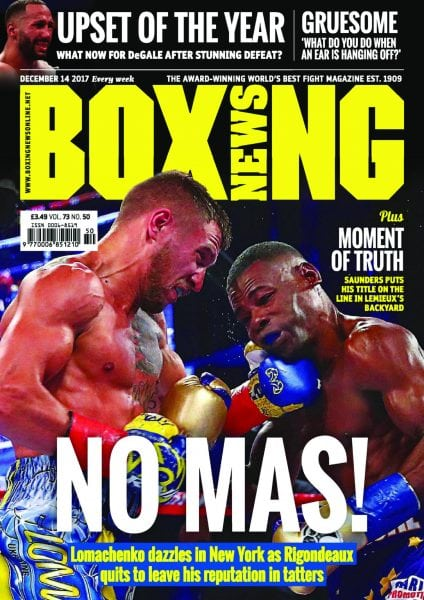 Download Boxing News — December 14, 2017