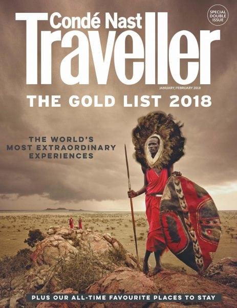 Download Conde Nast Traveller UK — January 2018