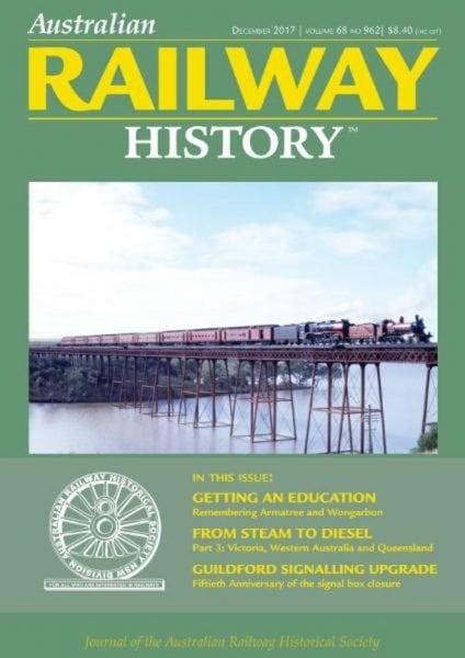 Download Australian Railway History — December 2017