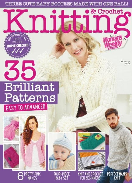 Download Knitting & Crochet from Woman's Weekly — February 2018