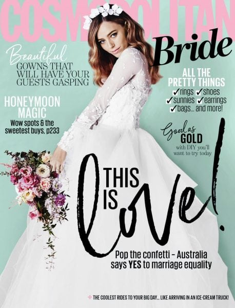 Download Cosmopolitan Bride Australia — January 2018