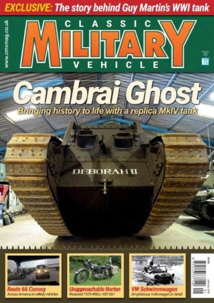 Download Classic Military Vehicle — January 2018