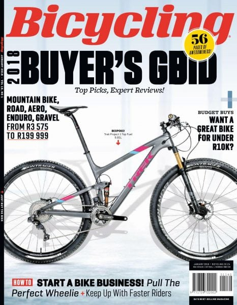 Download Bicycling South Africa — January 2018