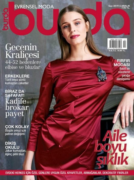 Download Burda Turkey — Aralık 2017