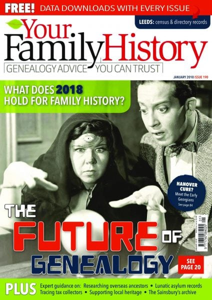 Download Your Family History — January 2018