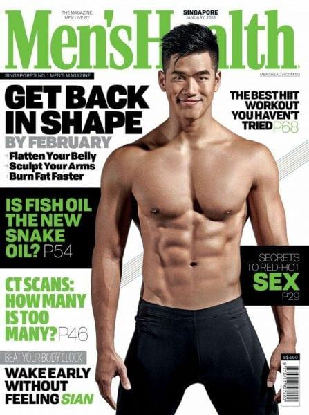 Download Men's Health Singapore — January 2018