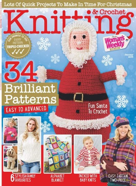 Download Knitting & Crochet from Woman's Weekly — January 2018