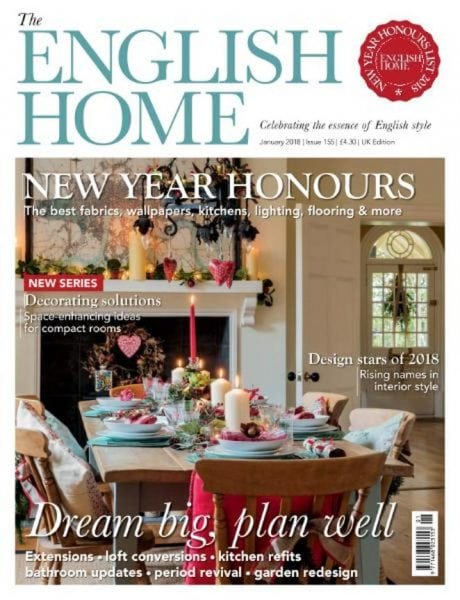 The english home january 2018 pdf download free for English house magazine