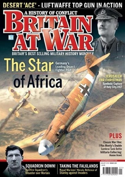 Download Britain at War Magazine — Issue 129 (January 2018)