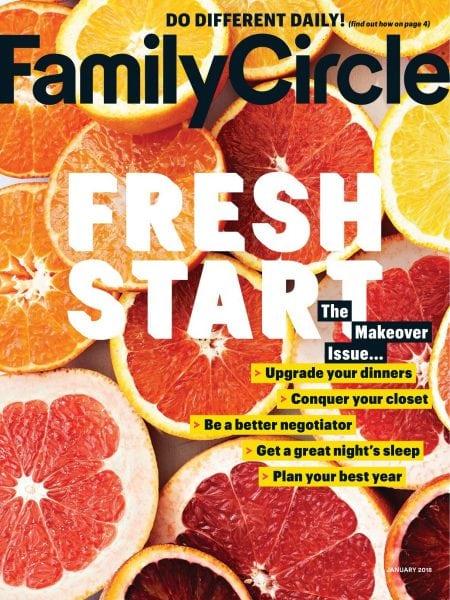 Family Circle January 2018 Pdf Download Free