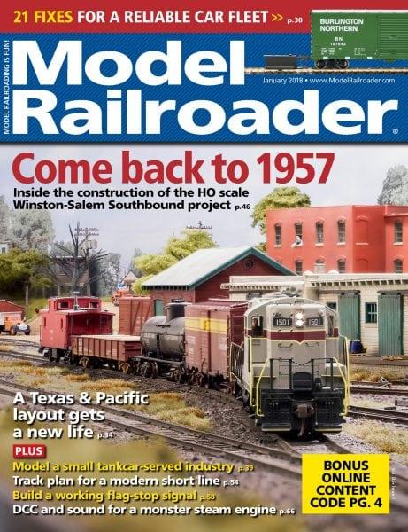 Model Railroader — January 2018