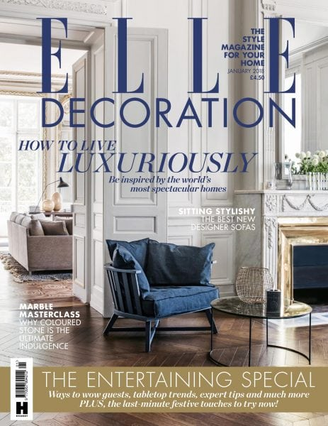 Elle decoration uk january 2018 pdf download free for Elle deco magazine