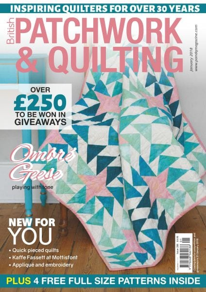 Download Patchwork & Quilting UK — January 2018