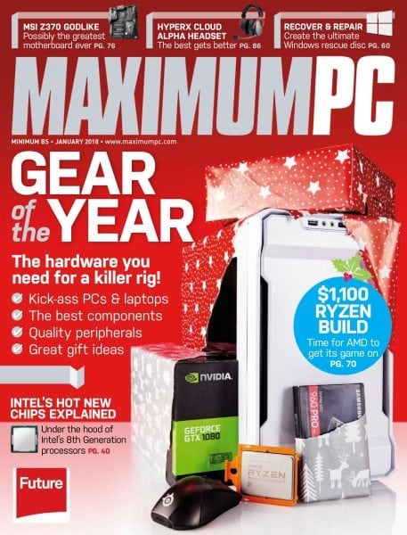 Download Maximum PC — January 2018