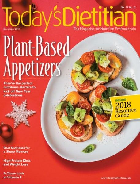 Download Today's Dietitian — December 2017