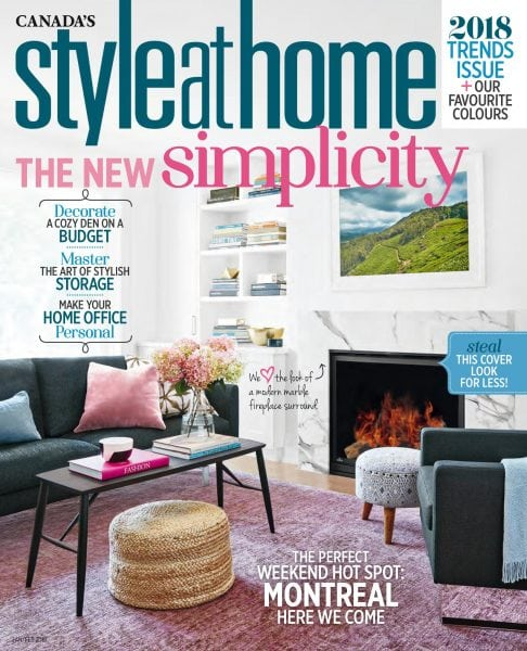 Download Style at Home Canada — January 2018