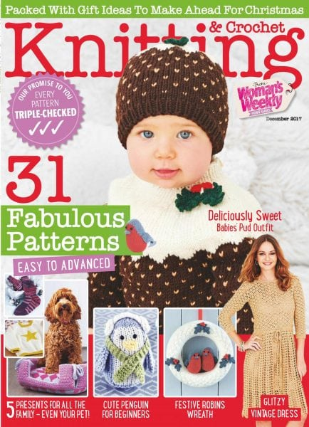 Download Knitting & Crochet from Woman's Weekly — December 2017