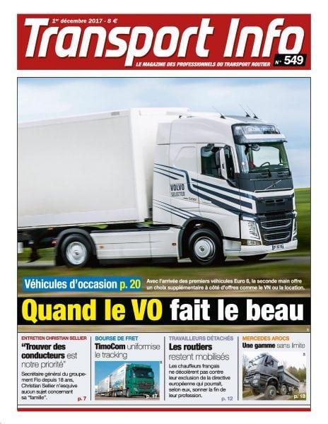 Transport Info Hebdo — décembre 2017