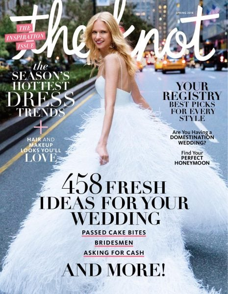 Download The Knot Weddings Magazine — March 2018
