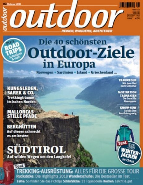 Download outdoor Germany No 02 – Februar 2018