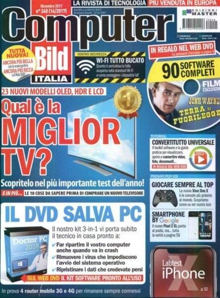 Download Computer Bild Italia N.240 — Dicembre 2017
