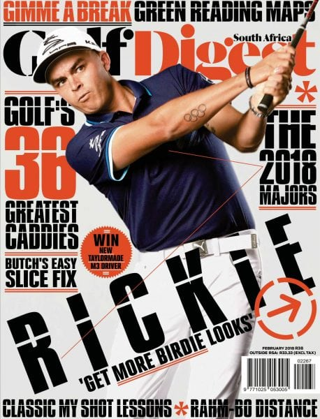 Download Golf Digest South Africa — February 2018