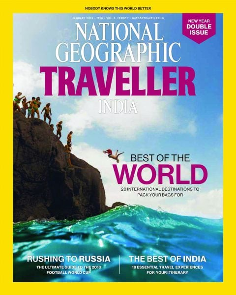 Download National Geographic Traveller India — January 2018