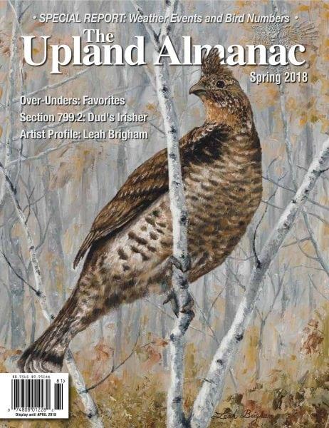The upland almanac january 2018 pdf download free for Farmers almanac fishing report