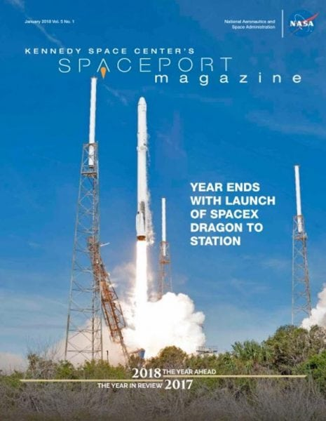 Download Spaceport Magazine — January 2018
