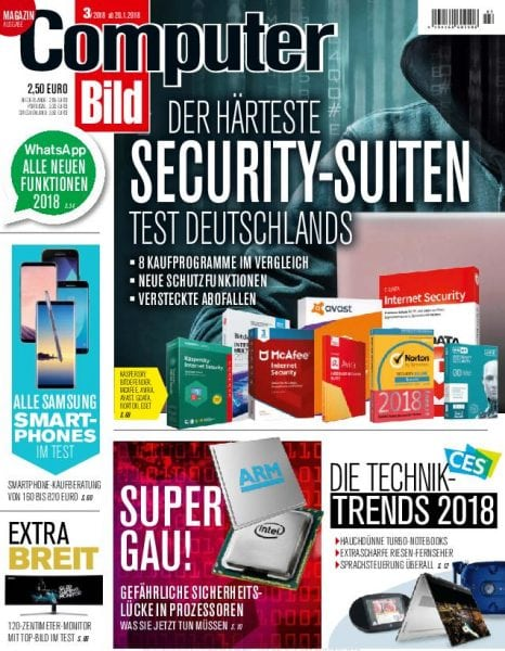 Download Computer Bild Germany — 20. Januar 2018