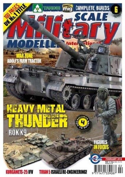 Download Scale Military Modeller International — February 2018