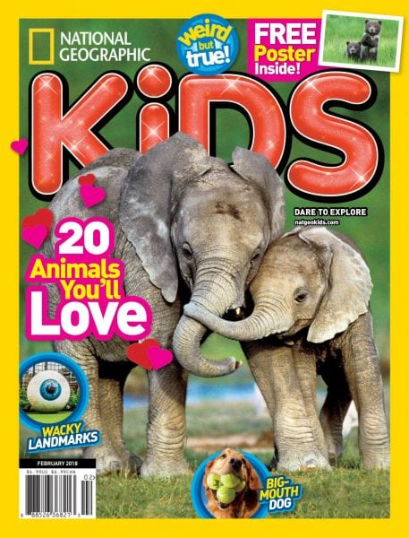 Download National Geographic Kids USA — February 2018