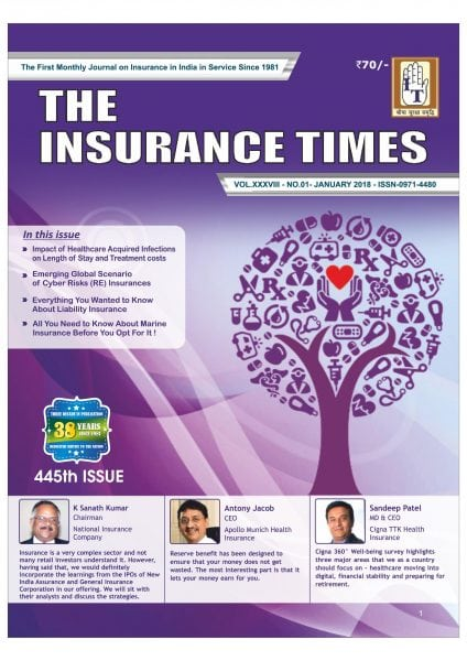 Download The Insurance Times — January 2018