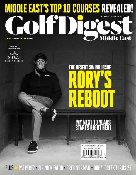 Download Golf Digest Middle East — January 2018