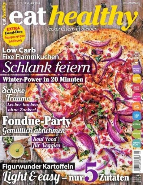 Eat Healthy Germany — December 2017 — Januar 2018 PDF