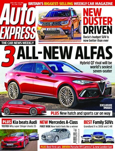 Download Auto Express — 02 January 2018