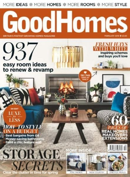 Download GoodHomes UK — February 2018