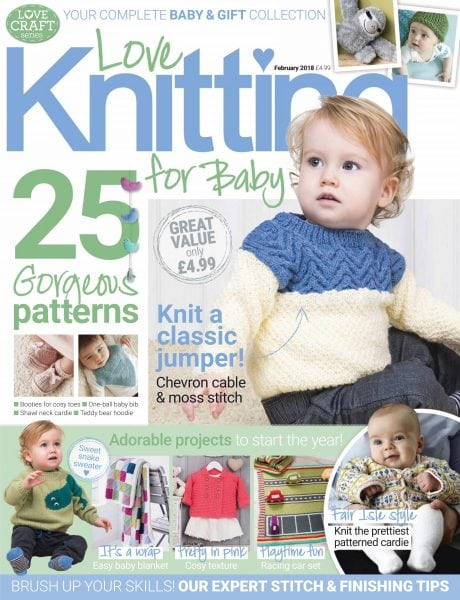 Download Love Knitting for Babies — January 11, 2018