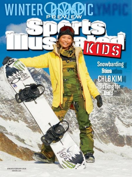 Download Sports Illustrated Kids — February 2018