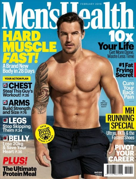 Download Men's Health South Africa — February 2018