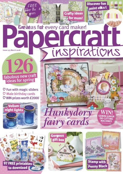 Download Papercraft Inspirations — March 2018