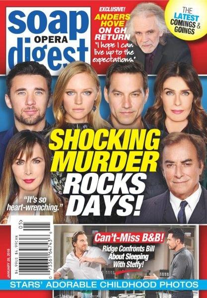 Download Soap Opera Digest — January 29, 2018