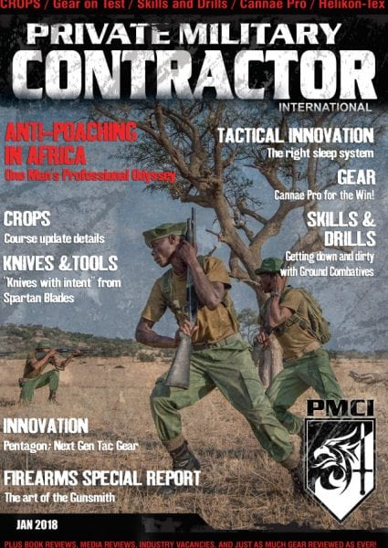 Download Private Military Contractor International — January 2018