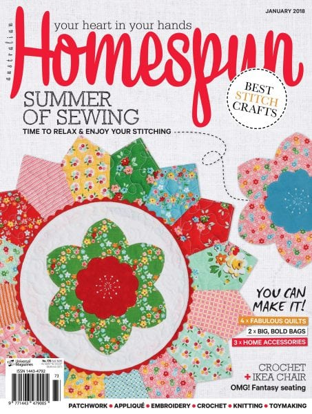 Download Australian Homespun — January 2018