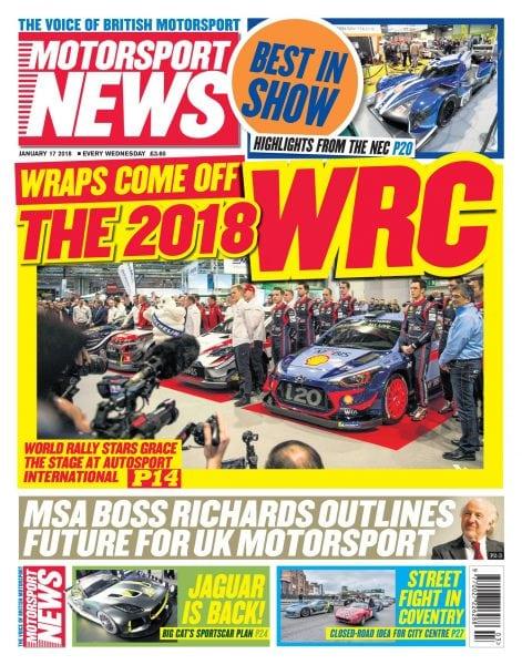 Download Motorsport News — January 16, 2018