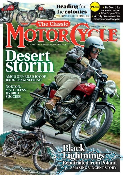 Download The Classic MotorCycle — February 2018