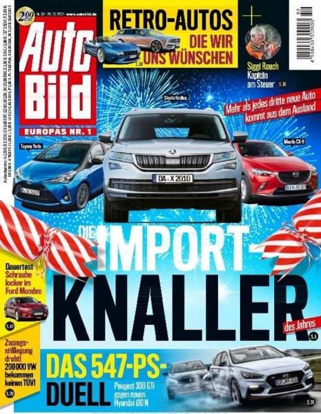 Download Auto Bild Germany — 30. Dezember 2017
